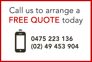 Call Supplied a free quote on 0475223136