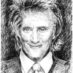 Rod Stewart Sketch